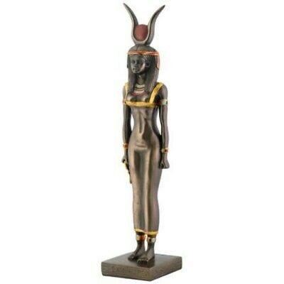 "8.5"" Egyptian Isis Sculpture Figurine Ancient Egypt Goddess Ankh Statue"