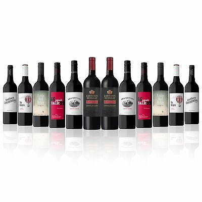 Mix AU Red Wine w/Limited Edition Rawson's Retreat Cab Sauv (12 Bottles) RRP$199