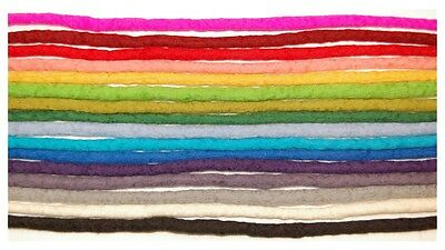 Rainbow  Dreadlocks for Davtaga - set of 50