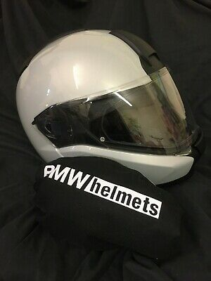 BMW Flip Lid Crash Helmet Sun Visor Small 52 - 53 Genuine