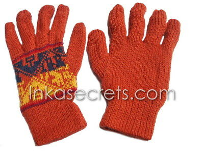 100 Alpaca gloves, Reversible