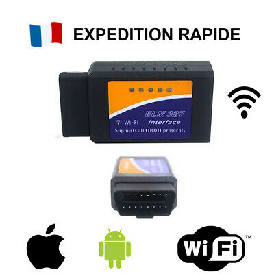 ELM327 WIFI - Interface OBD OBD2 II diagnostique véhicule / PC - Android Iphone