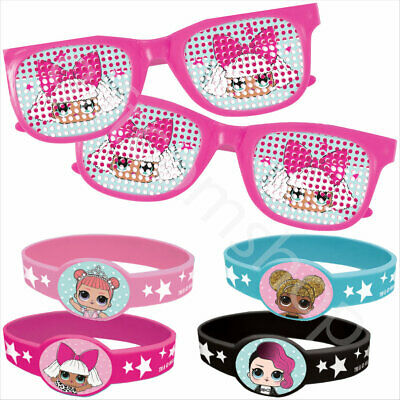 Lol Surprise Party Bag Fillers Bundle Pack Kit Girls Birthday Bracelet Glasses