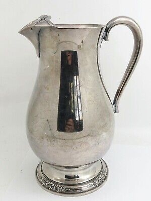 International Silver Silverplate Camille Pattern Water Pitcher