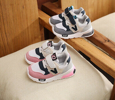 Baby Kids Girls Soft Shoes Children Athletic Outdoor Running Sport Sneaker Shoes