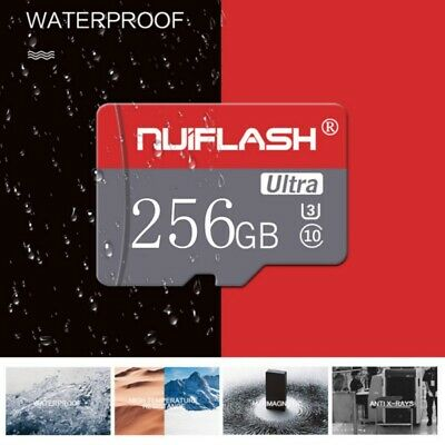 256GB MicroSD-Card TF-Flash Memory Cards For Phone Tablets Cameras C10 U3 Cards