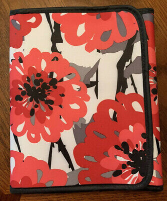Thirty-One Fold-It-Up Organizer - Bold Bloom - iPad/Tablet Cover EUC
