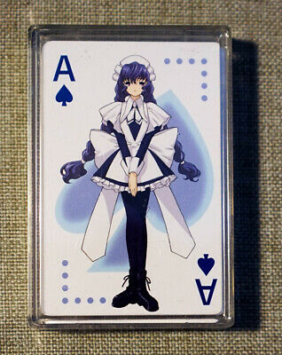 Officially Licensed Chobits Playing Card Set - Clean and Complete set Brand New