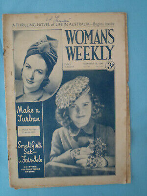 Vintage 1946 Woman's Weekly,  16th February