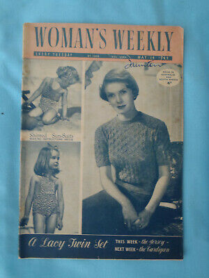 Vintage 1949 Woman's Weekly,  14th May
