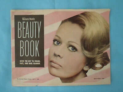 Vintage 1968 Woman's Weekly Beauty Book, April 14th