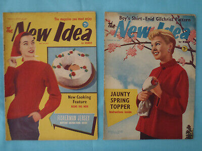 Vintage 1957, The New Idea, July / August