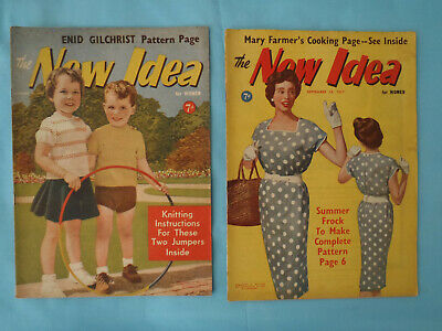 Vintage 1957, The New Idea, August / September