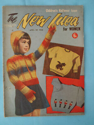Vintage 1954, The New Idea, April