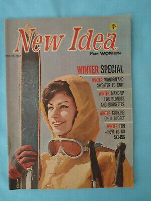 Vintage 1963, The New Idea, June