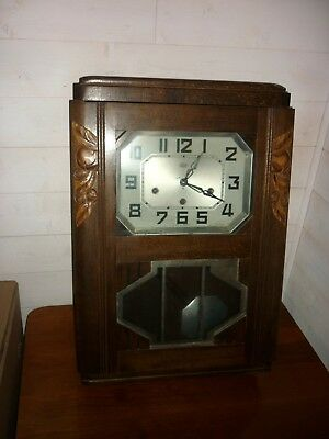 carillon horloge pendule odo 8 tiges 8 Marteau 30 noyer fonctionne support U