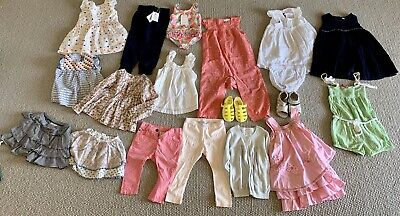 Girls Seed Size 1 & Size 2 Fox & Finch Bebe Pure Baby Jacardi Bundle
