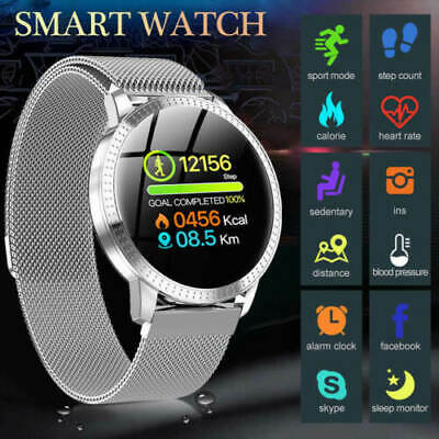 Waterproof Smart Watch Gift Blood Pressure Heart Rate Monitor for iOS Android F1