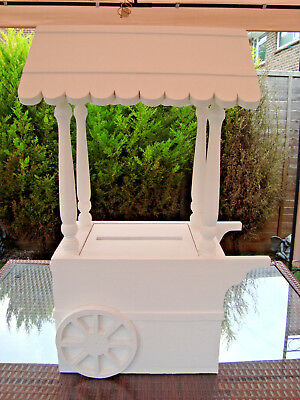 Solid wooden Wedding Candy Cart post box for sale free postage uk