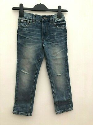 Boys Ex High Street Distressed Jeans Ages 3-12 *NEXT Day 1st Class Postage*