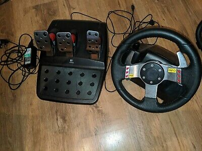 Logitech G27 Steering Wheel and Pedals for PS2, PS3 & PC