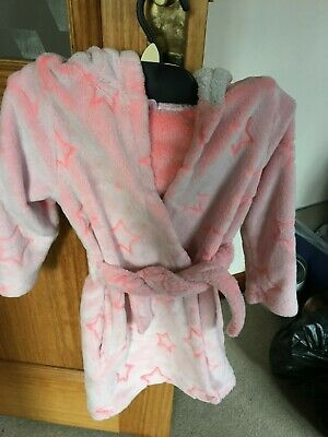 Girls dressing gown age 4/5