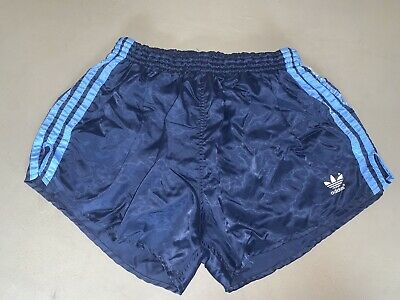 Adidas vintage glanz nylon football shorts sports PE XL D8