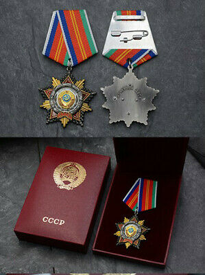 USSR AWARD ORDER BADGE Order of Friendship of Peoples with collection Box