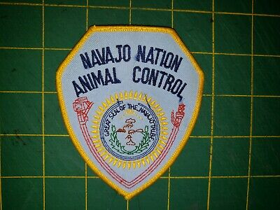 RAMAH NAVAJO RESERVATION NEW MEXICO  TRIBAL POLICE  SHOULDER PATCH