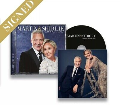 Martin And Shirlie - In The Swing Of It * SIGNED * cd - KEMP spandau ballet NEW