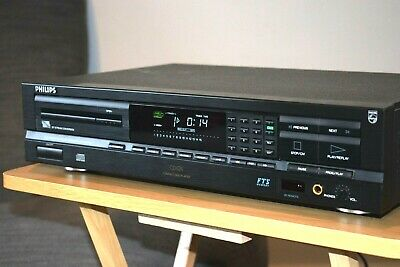 Philips CD624 CD Player Hi-Fi Stereo Separate Made In Belgium
