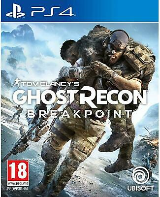 Tom Clancy's Ghost Recon Breakpoint (PS4) Game Factory Sealed