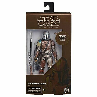 Star Wars Black Series The Mandalorian Carbonized Graphite Figure Exclusive