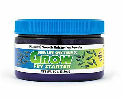 New Life Spectrum Grow Fry Starter Color Enhancing Micron Fish Pellet 50gm