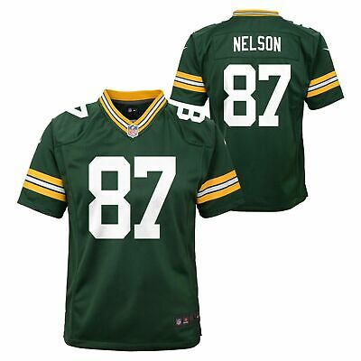 Nike NFL Toddlers Green Bay Packers Jordy Nelson #87 Game Team Jersey