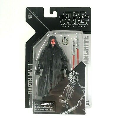 Star Wars The Black Series Archive Darth Maul Action Figure Minor Package Crease