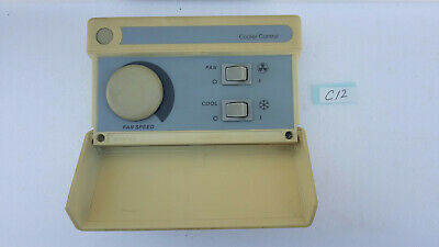 Vintage Carrier Evaporative Cooler Wall Wired Control Panel Box Tekelek 3-1089-2