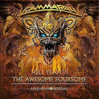Hell Yeah!!!: The Awesome Foursome LIVE in montreal 2 CD SET GAMMA RAY