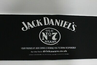 54cm X 9cm Jack Daniels Rubber Backed Bar Runner
