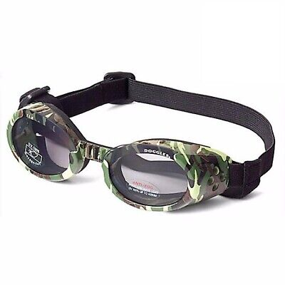 Doggles ILS Camo/Smoke X-Small | Goggles/Sunglasses | Eye Protection for Dogs