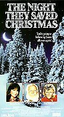 The Night They Saved Christmas VHS 1995 Jaclyn Smith   plus A Christmas Story