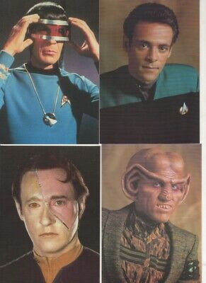 Star Trek Postcards 1993. Set of 16