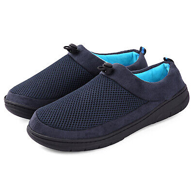 VONMAY Men's Slippers Memory Foam House Shoes Adjustable Breathable