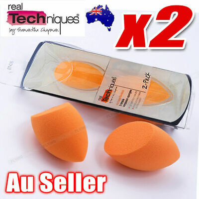 New Original Real Techniques Miracle Complexion Sponge (2 sponges in each pack)