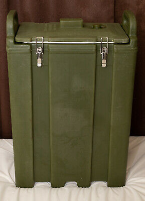 5 Gallon Army Green Insulated Hot Cold Catering Beverage Drink Dispenser