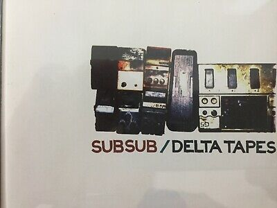 SUBSUB - Delta Tapes CD 1998 Shock AS NEW! (Pre Doves)