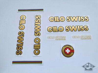 OLMO V4 SUPER GENTLEMAN decal set sticker complete bicycle FREE SHIPPING