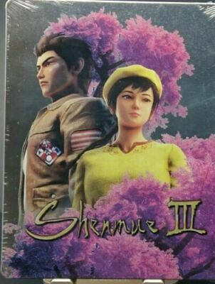 Shenmue 3 III Limited Edition Steelbook *NO GAME*