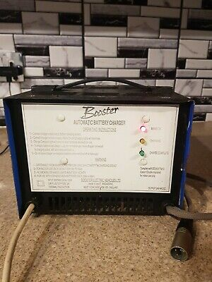 BOOSTER AUTOMATIC BATTER CHERGER 4 amp - 24V   FOR MOBILITY SCOOTER