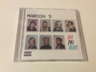 Maroon 5  Red Pill Blues Cd Album New And Sealed E1